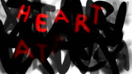 HEART ATTACK : loose, series 'assemble your message' (LOOP) video