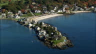Lord's Point - Aerial View - Maine,  York County,  United States video