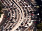 Los Angeles 101 Freeway Traffic (PAL) video