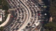 Los Angeles 101 Freeway Traffic (HD) video