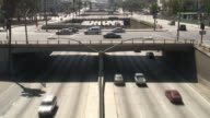 (HD1080i) Los Angeles: 3D Downtown Traffic video