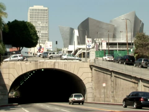 Los Angeles: 3D Traffic and Tunnel video