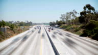 Los Angeles 405 Traffic timelapse video