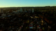 Los Angeles Aerial Century City video