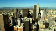 Los Angeles Aerial Downtown Cityscape video
