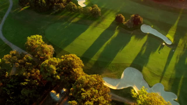 Los Angeles Aerial Golf Course video