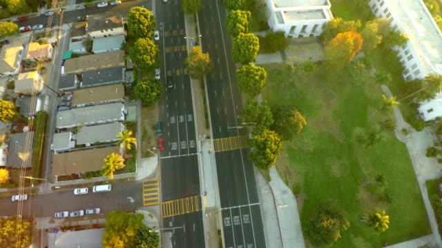 Los Angeles Aerial Venice Blvd video