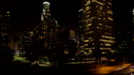 Los Angeles at Night video