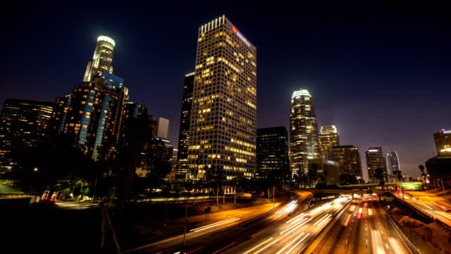 TIME LAPSE: Los Angeles at Twilight video