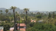 (HD1080i) Los Angeles: Beverly Hills Green, Rooftops and Trees video