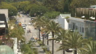 (HD1080i) Los Angeles: Beverly Hills Rodeo Drive, Intersection video