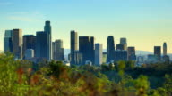 Los Angeles, CA: day to night time lapse video