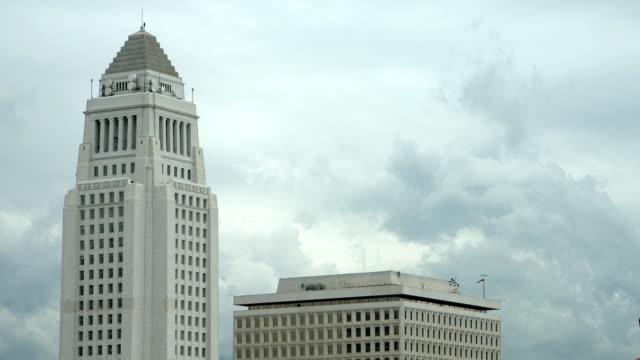 Los Angeles City Hall Time Lapse-HD video