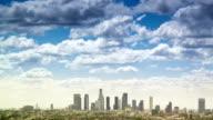 Los Angeles cityscape timelapse video