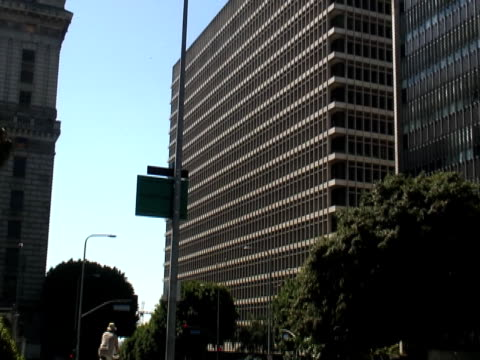 Los Angeles: Downtown Criminal Courts Building, Push video