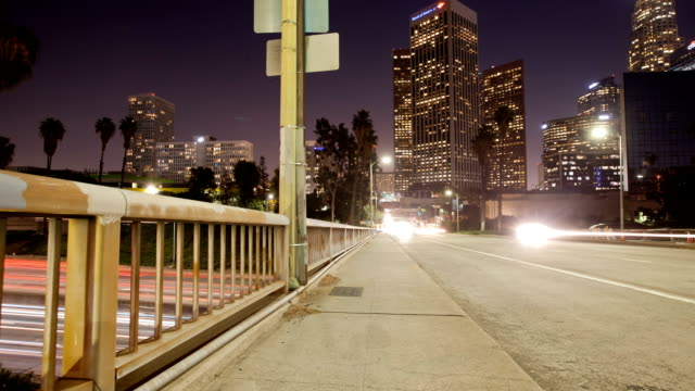 Los Angeles Freeway Time Lapse video