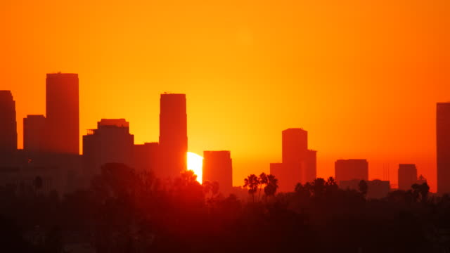 Los Angeles Sunrise Time Lapse video