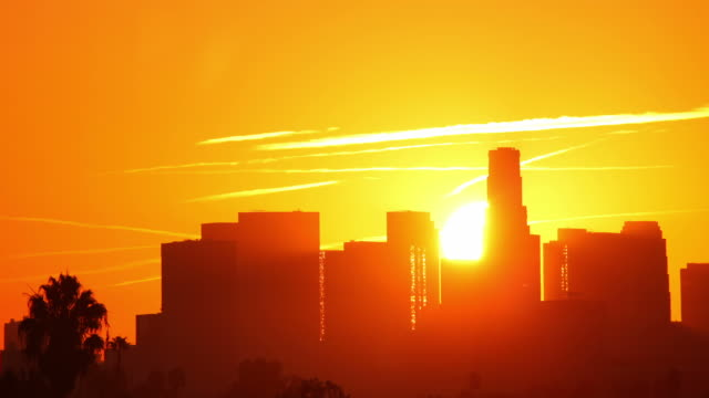 Los Angeles Sunrise Time Lapse (Wide) video