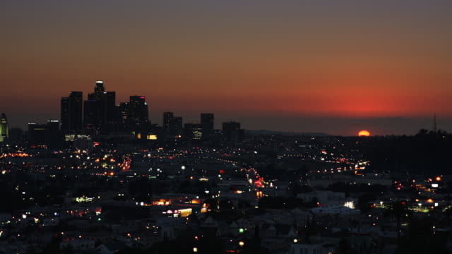 Los Angeles Sunset Time Lapse video