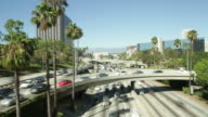 Los Angeles Timelapse HD video
