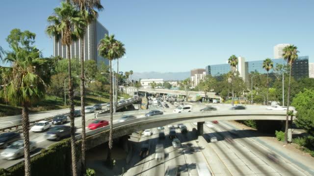 Los Angeles Timelapse HD video