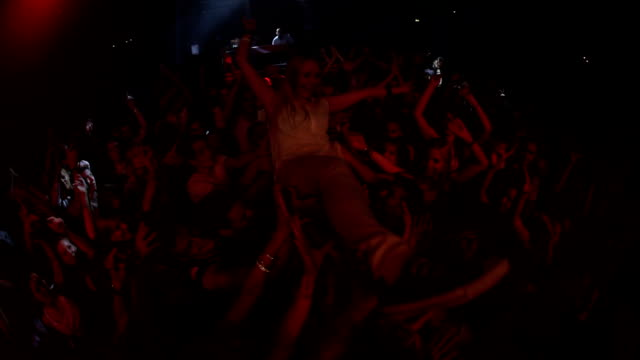 I lose myself in the arms of the crowd video