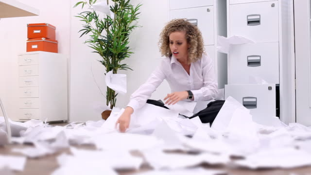 Lost in paperwork video