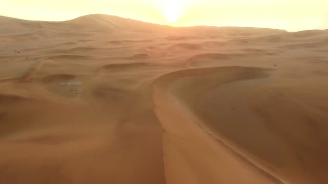 Lost in the vastness of the desert video