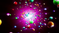 HD: Lottery balls loopable background video