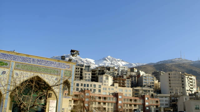 Loudspeaker in Tehran used for prayer calls video