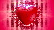 Love Crash Red Heart video