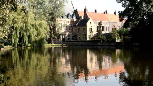 Love Lake in Bruges, Belgium video