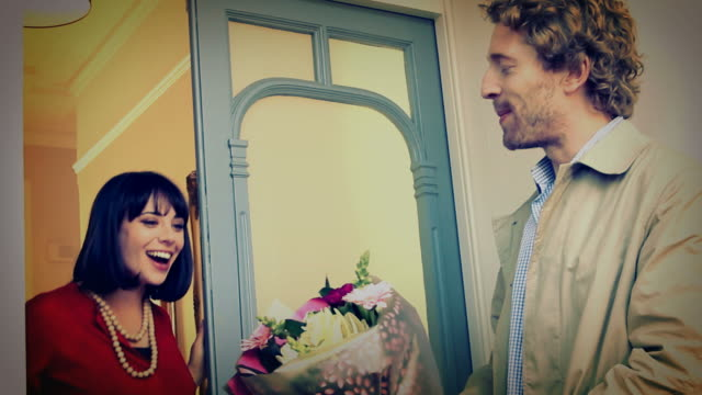 Love, romance and flowers. Instagram/vintage. video