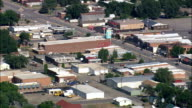 Lovell  - Aerial View - Wyoming, Big Horn County, United States video