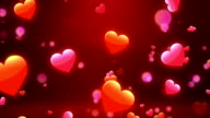 Lovely Hearts 1 Loopable Background video