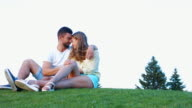 Lovers enjoy each other. video