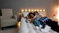 Loving Couple In The Evening video