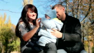 loving parents with your baby video
