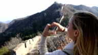Loving the Great Wall of China video