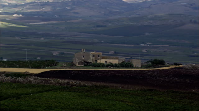 Low Over Vineyards  - Aerial View - Sicily, Province of Trapani, Mazara del Vallo, Italy video