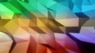 Low poly background. video