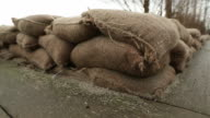Low Wall of Sandbag Protection video