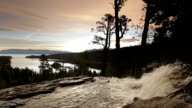 Lower Eagle Falls, Lake Tahoe, sunrise video
