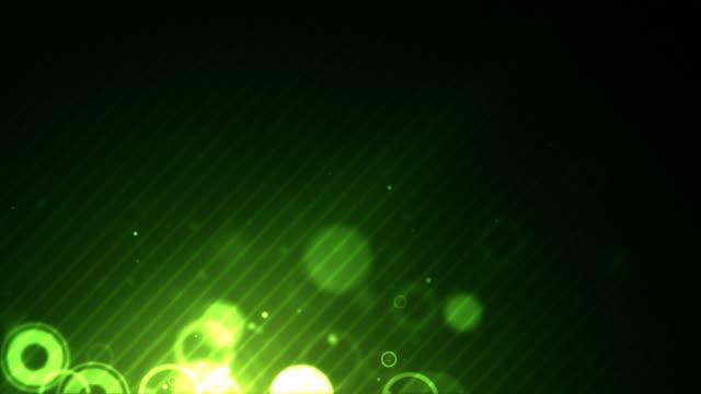 Lower Floating Rings - Green (HD Loop) video