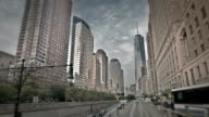 Lower mahattan and One World Trade Center or Freedom Tower video