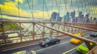 Lower Manhattan from the Brooklyn Bridge video