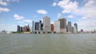 HD: Lower Manhattan skyline financial district, New York video