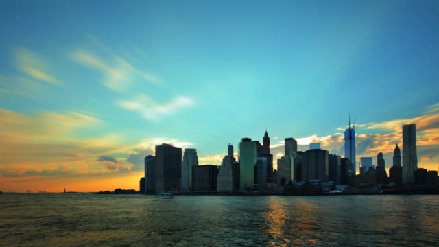 Lower Manhattan Skyline,NYC video