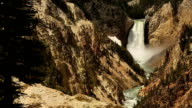Lower Yellowstone Falls video