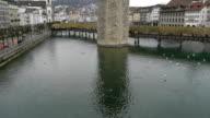 Lucerne aerail view video